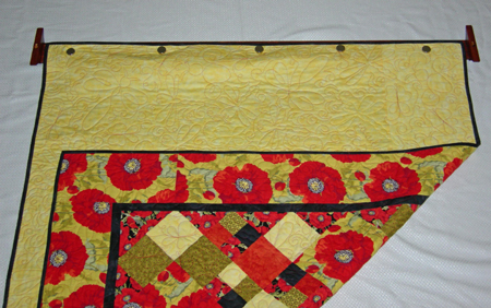 How To Hang A Quilt On The Wall easydisplay decorative quilt hanger - instructions